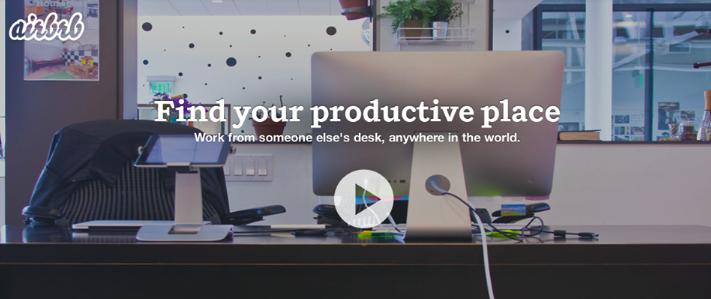 Pesce d'aprile di Airbnb: entriamo nel coworking!
