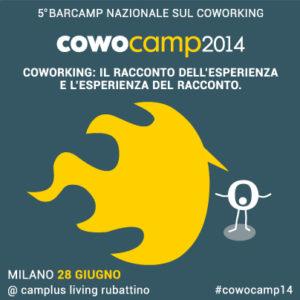 Barcamp nazionale sul coworking di cowo 2014