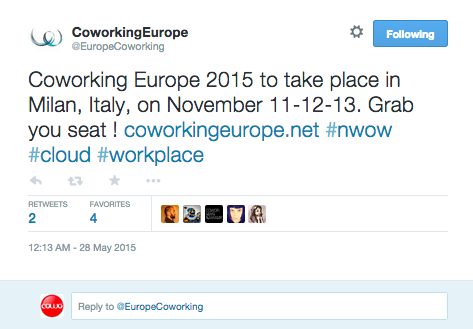 Coworking Europe Milano