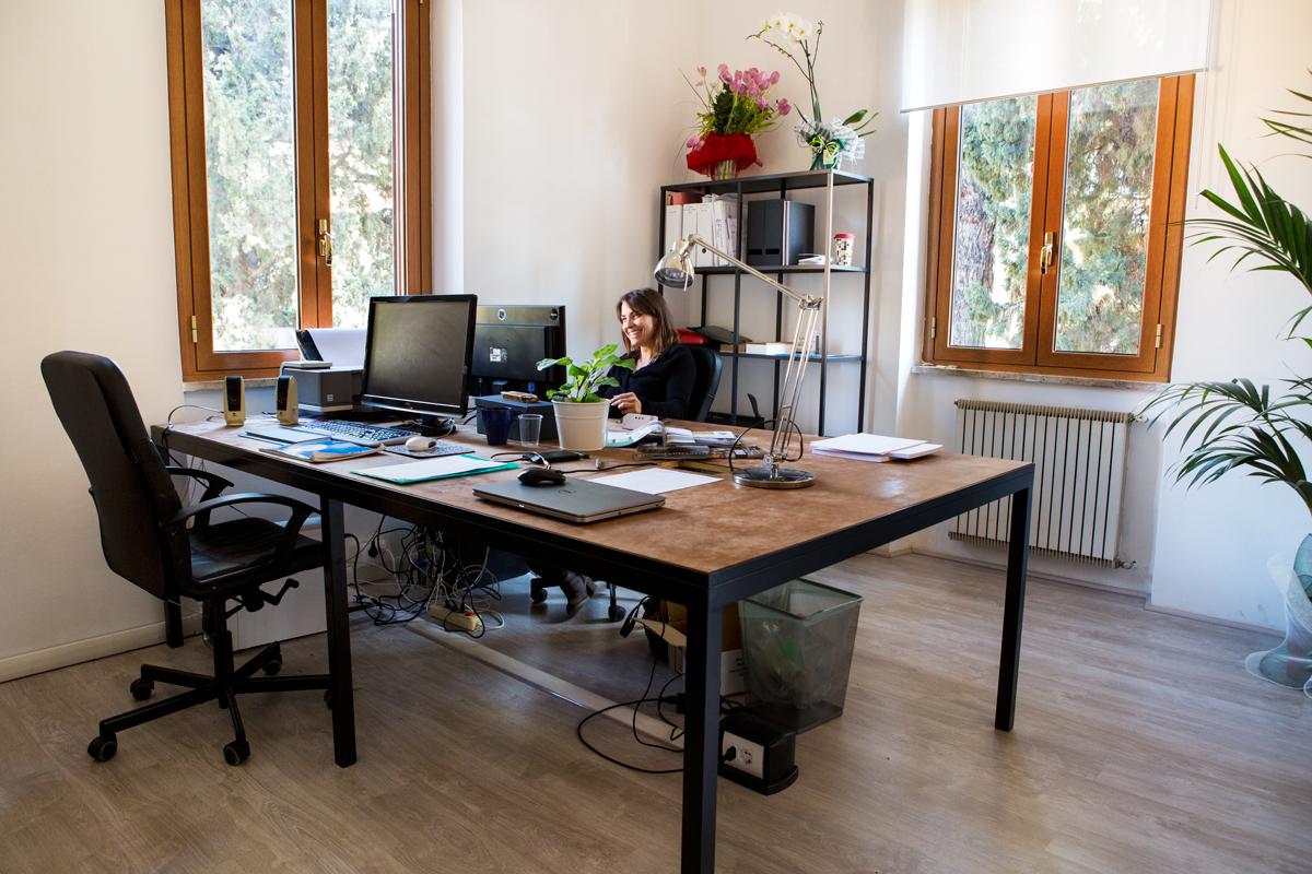 Scrivania Coworking Roma Monteverde