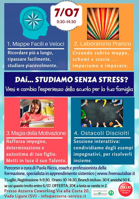 Al Coworking Vado Ligure Savona, il 7/7 studio senza stress