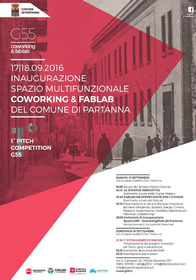 Partanna Coworking e Fablab inaugurati con Pitch competition