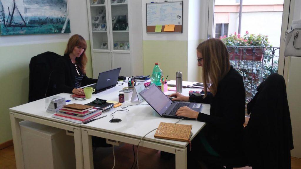 Coworking Milano Cadorna: postazioni