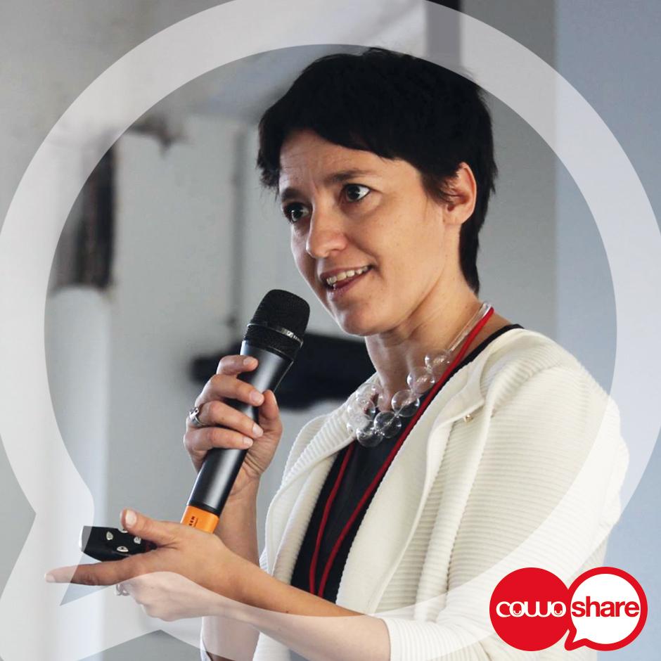 Coworking e Istituzioni - Ivana Pais al CowoShare del 30/9/2017