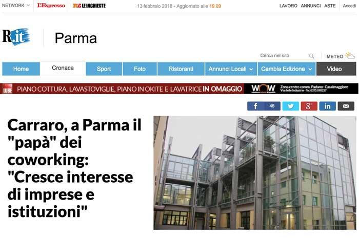 Coworking su Repubblica Parma